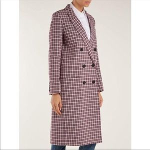 Burberry Double Faced Cotton Twill Tailored Coat
